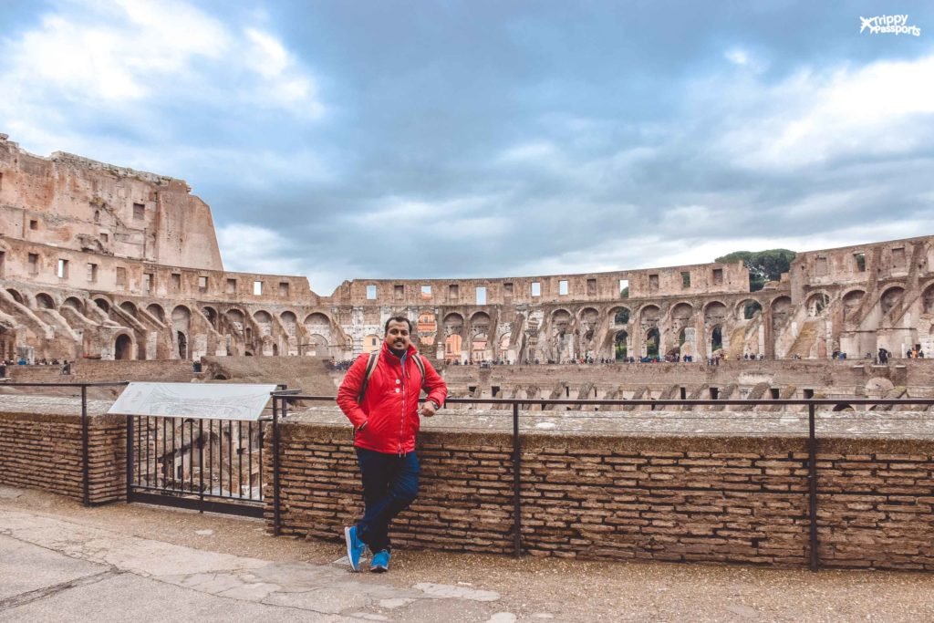 12 day italy itinerary - Colosseum in Rome